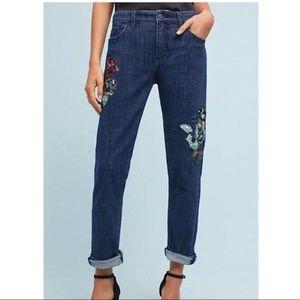 Anthropologie Pilcro Embellished Jeans